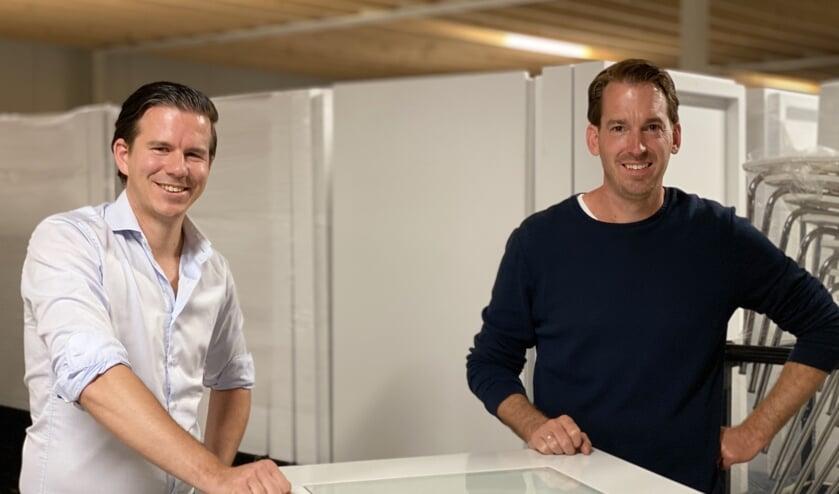 Joop Govers en Rob van Zutven staan te springen om aan het werk te gaan.