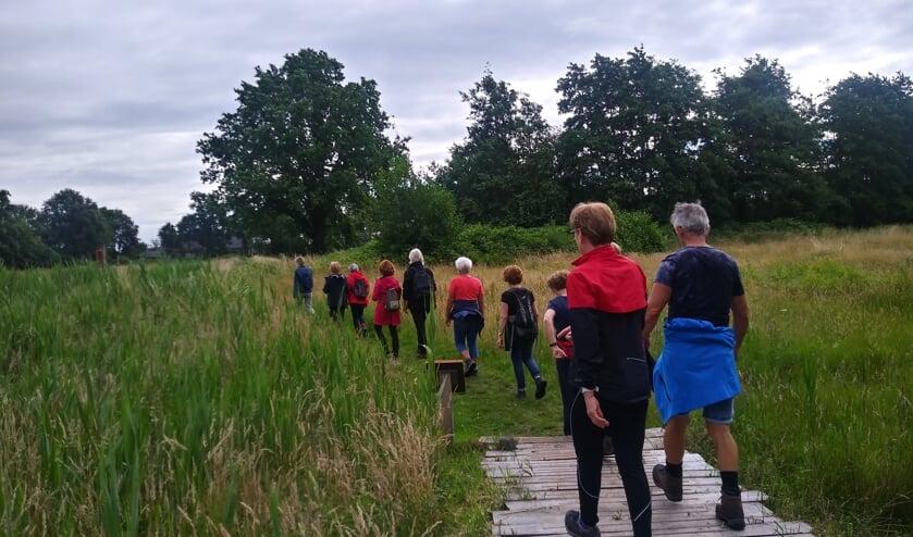 Mensen kunnen tijdens de cursus kennismaken met sportief wandelen.