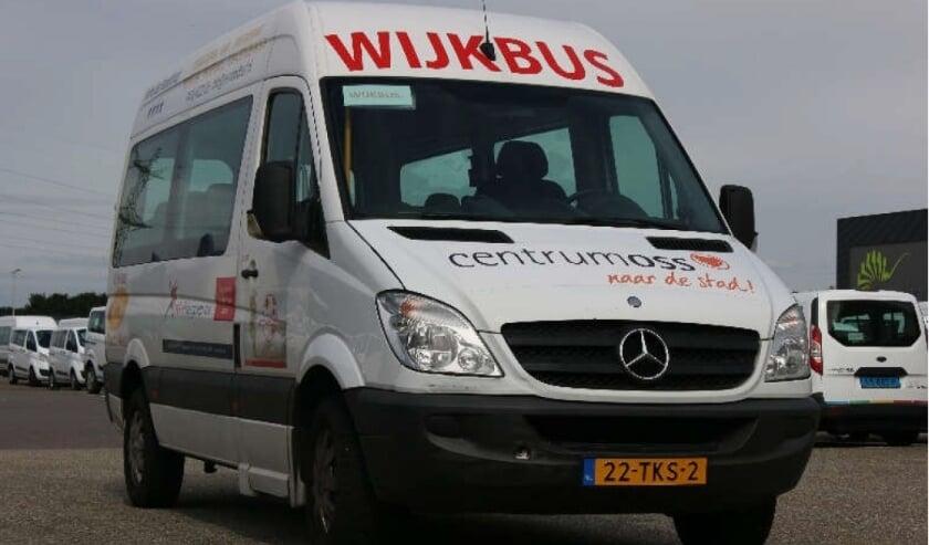 De wijkbus gaat vanaf 3 augustus weer rijden.
