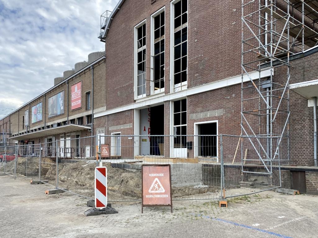 De entree krijgt een update. Foto:  © Kliknieuws Veghel