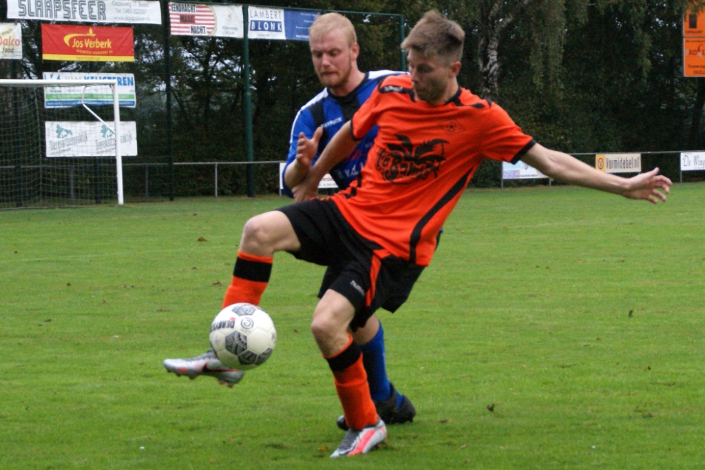 Excellent was te sterk voor DWSH'18. Foto: Voetbal-shoot.nl/Jeff Meijs © Kliknieuws Veghel