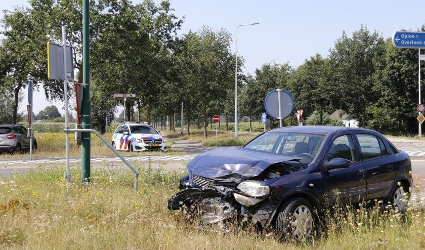 Beide voertuigen zijn door een bergingsbedrijf afgesleept.