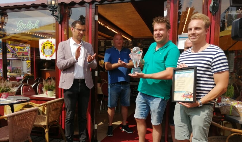 Cor Overkamp Award voor Stichting Berghem Events