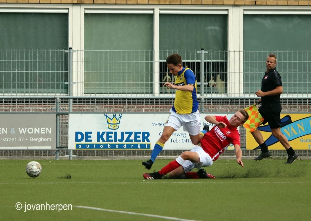 Berghem Sport verloor nipt van Beerse Boys met 1-2. Foto: Jo van Herpen © Kliknieuws Veghel