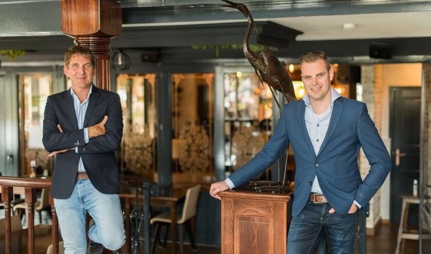 <p>Marc van Berkel en Mike Versantvoort.</p>