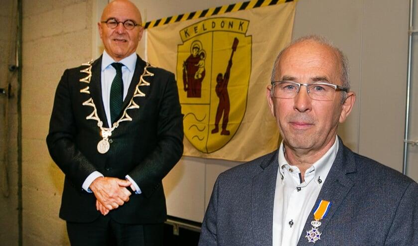 Wouter van Boggelen heeft een lintje gekregen.