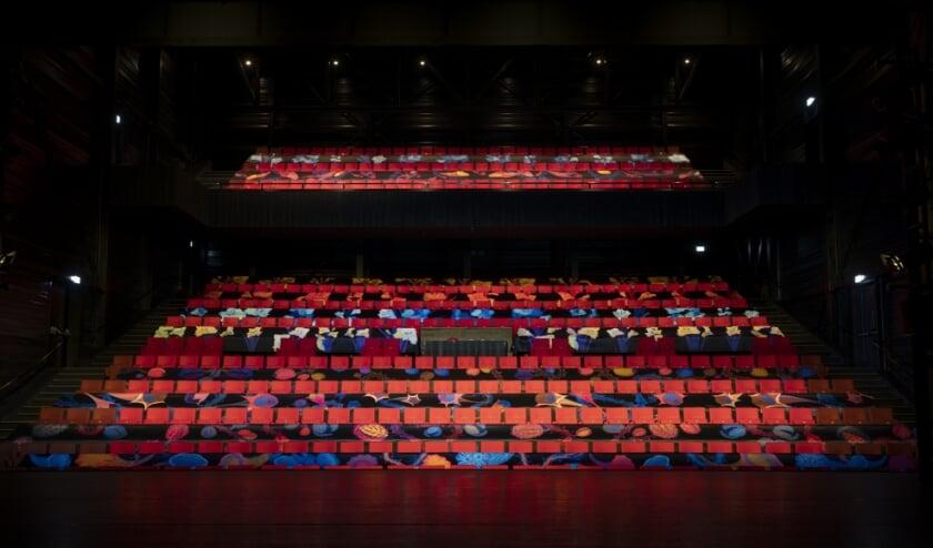 De 'nieuwe' Grote Zaal van De Blauwe Kei.