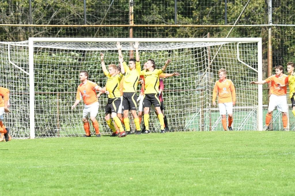 Boekel Sport - Gassel 7-0. (Foto: Frans van den Elzen)  © Kliknieuws Veghel