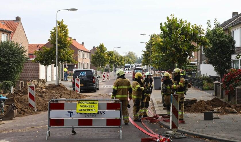 Meerdere woningen in Troelstrastraat ontruimd na gaslek.  (Foto: Gabor Heeres, Foto Mallo)