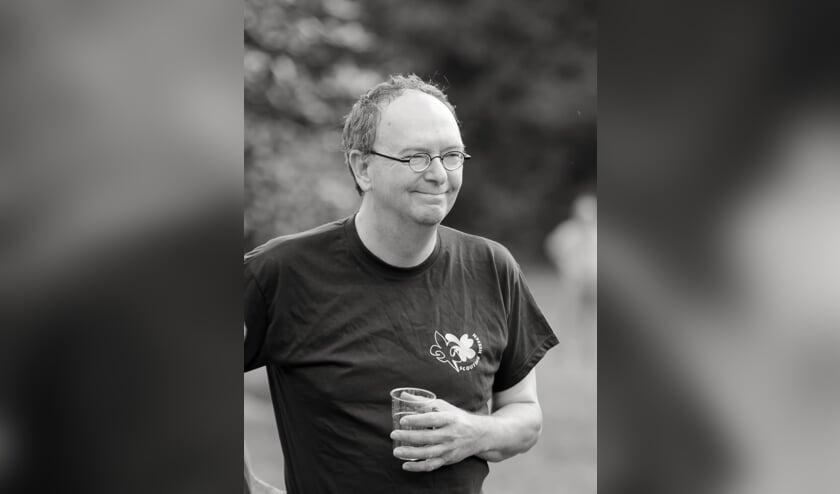 Groot verlies voor Scouting Heesch: Geert Eijsvogels overleden. (Foto: Ruud Welten, website Scouting Heesch)