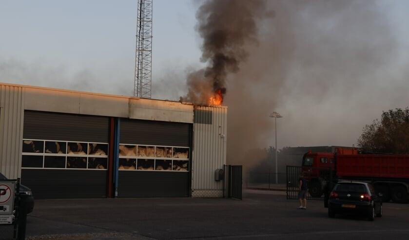 De brand zou zijn ontstaan door een elektrische storing in de meterkast.