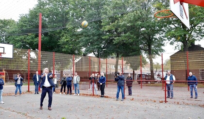 <p>Opening van playground De Basket</p>