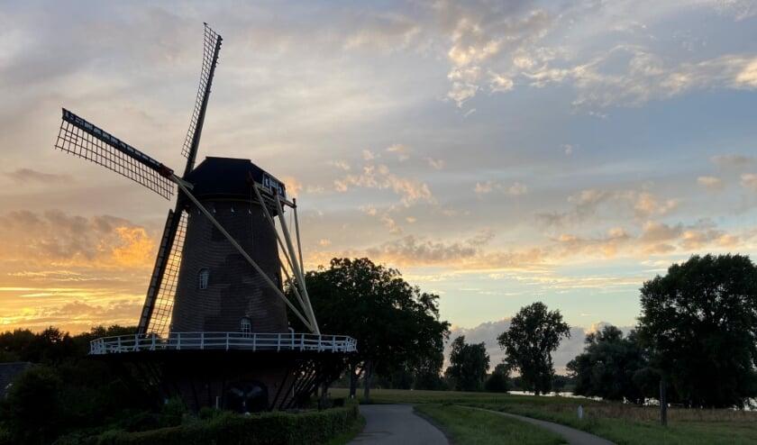 <p>De molen bij Dieden. (Foto: Carmen Smits)</p>