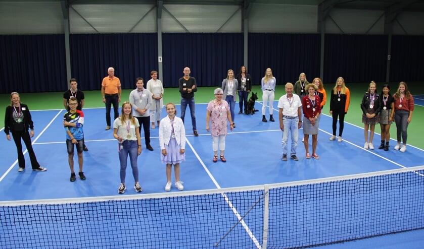 <p>Foto van vorig jaar: De winnaars uit de regio Veghel.</p>