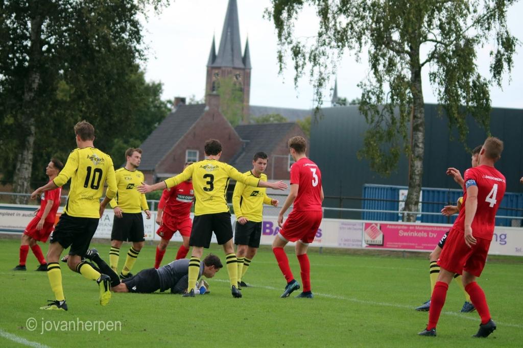 Opnieuw nipt verlies Berghem Sport nu bij ZSV  © Kliknieuws Veghel