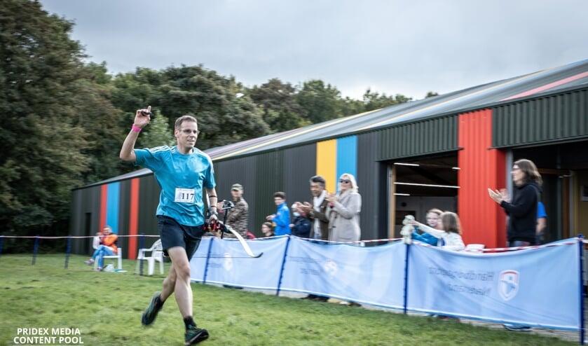 <p>Mark werd voor de eerste keer Nederlands Kampioen Run-archery.</p>