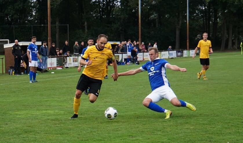 Vorstenbossche Boys tegen FC de Rakt. (Foto: Marion vd Ven)