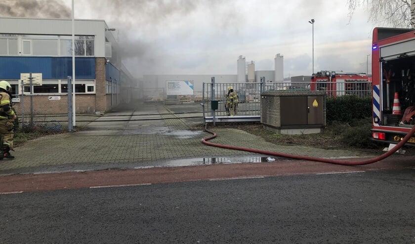 Grote brand in Uden.