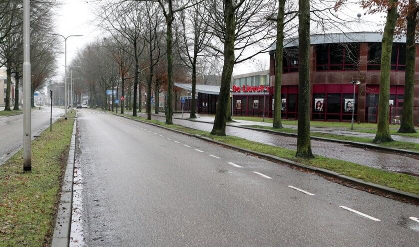 <p>De Raadhuislaan in Oss. (Foto: Hans van der Poel)</p>