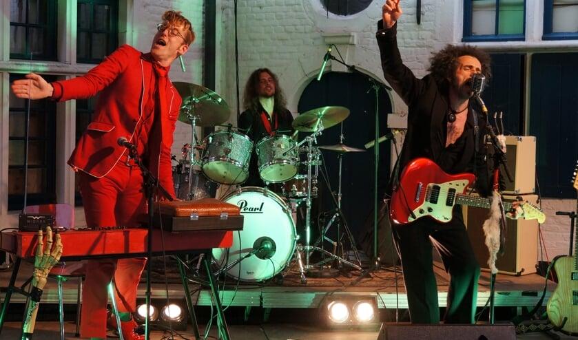 <p>Black Djangos in actie tijdens een optreden in Belgi&euml;.</p>