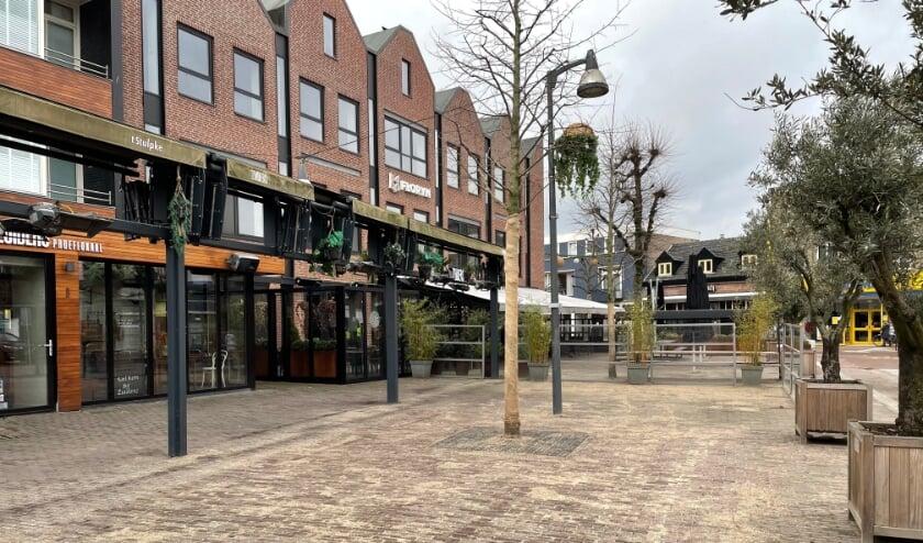 <p>De horecazaken aan de markt in Uden zijn volledig leeg.&nbsp;</p>