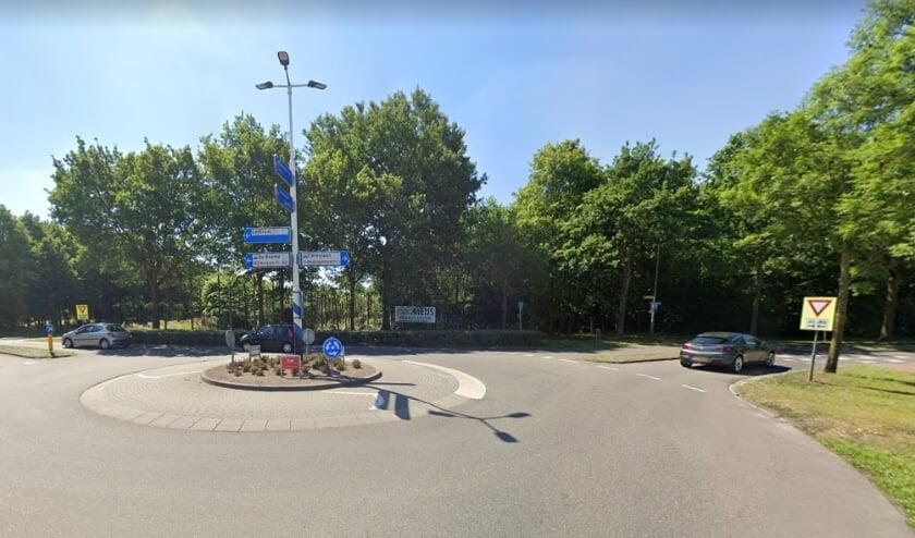 <p>De rotonde aan de Cereslaan. (Foto: Google Maps)</p>
