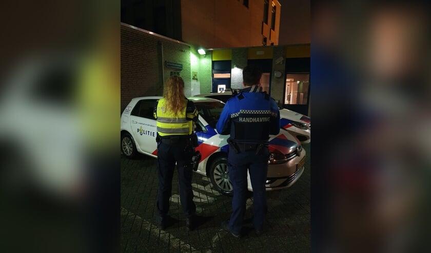 <p>Politie en handhaving samen aan het werk,</p>