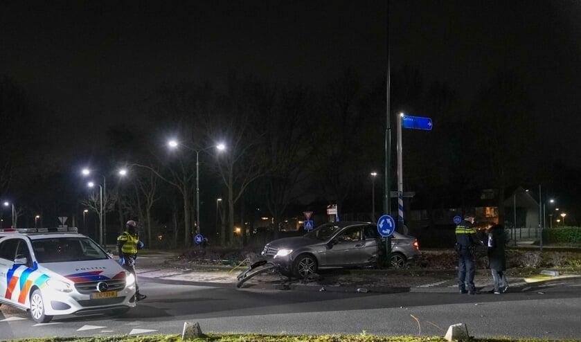 <p>Ongeval bij het Woud. (Foto: Gabor Heeres, Foto Mallo)</p>