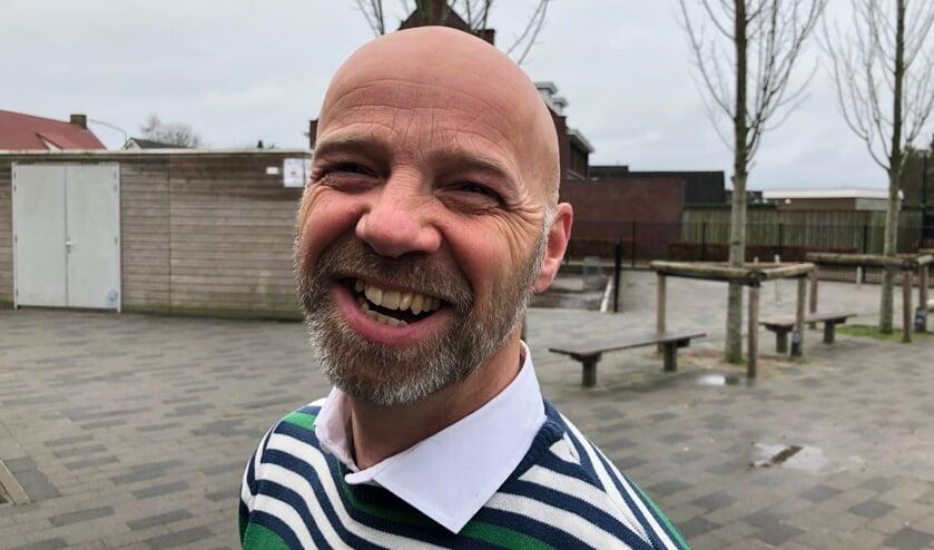 Maikel Verbakel is een bekend gezicht op de Mariaschool in Erp.