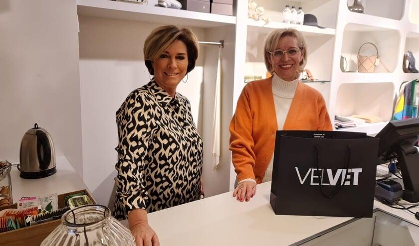 Anita Vink en José van Rossem van Velvet.