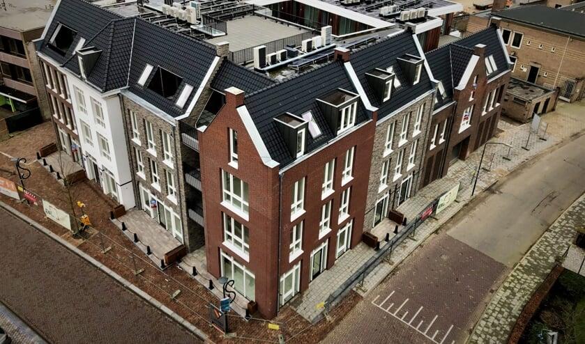 <p>Het nieuwe complex Aan de Markt (Foto: Bouwbedrijf van de Ven).</p>