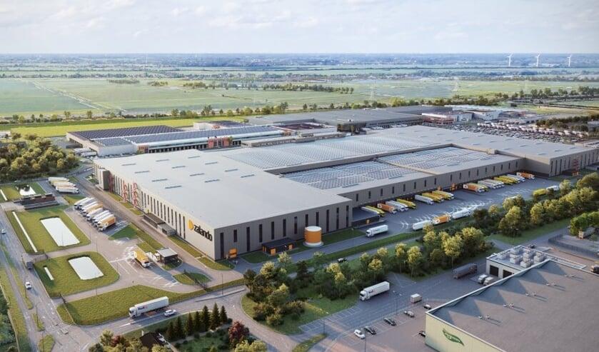 <p>Het distributiecentrum Zalando (Bleiswijk) is een project van Van Grunsven Groep.</p>