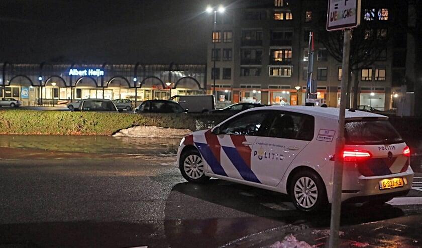 Politie in het Osse centrum.