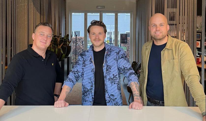 Van links naar rechts: Sander, Niels, Mathieu.