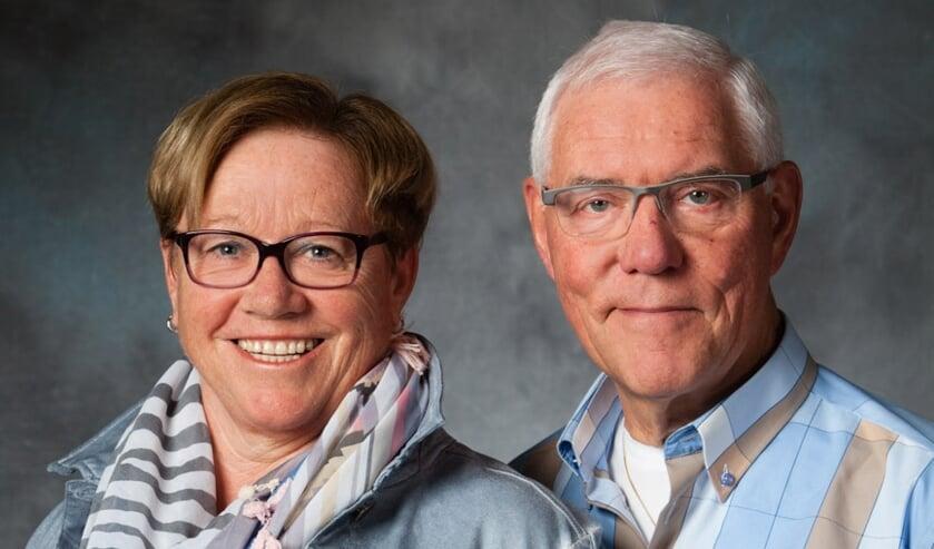 <p>Het gouden paar. (foto: Fons Strijbosch)</p>