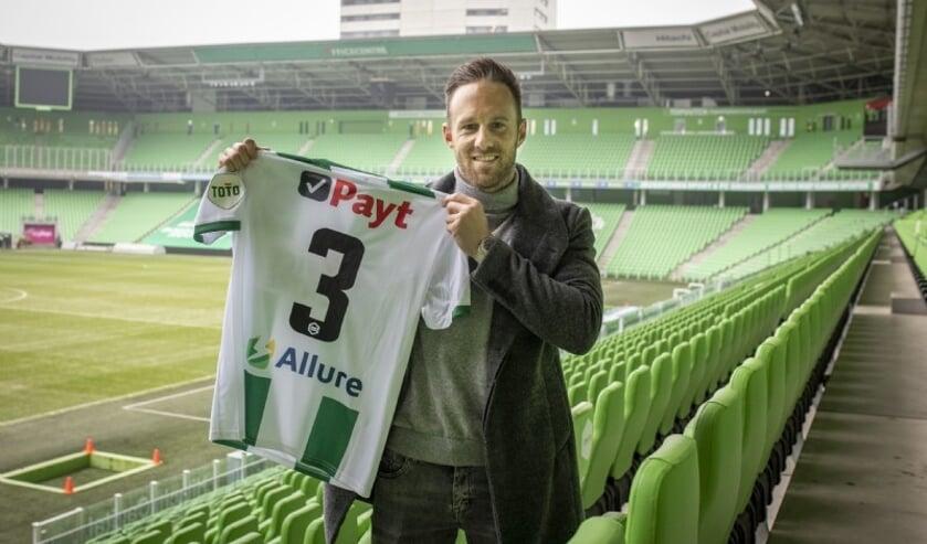 Bart van Hintum. (Foto: website FC Groningen)