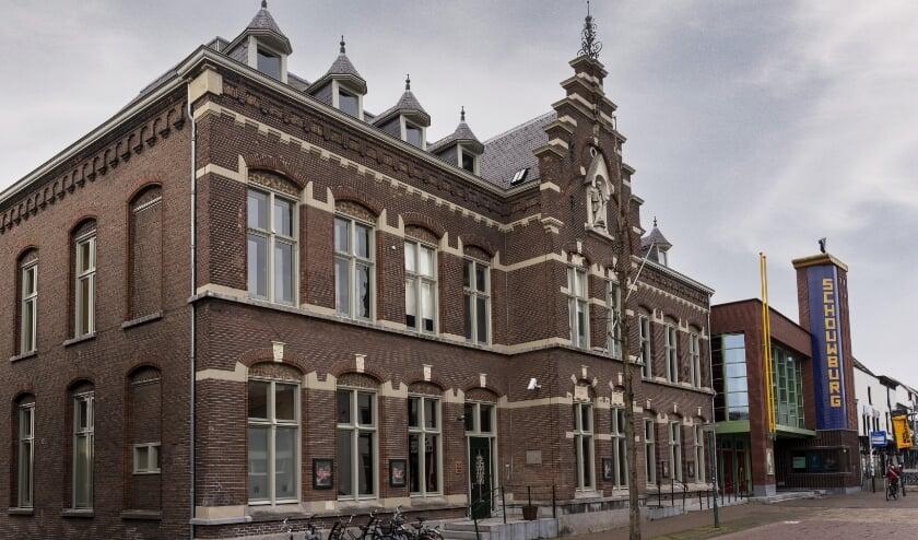 Het voormalige fraterhuis naast de Cuijkse schouwburg. (Foto: Jan Meijs).