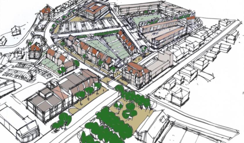 <p>&nbsp;Overzichtskaart concept centrumontwikkelingen Sint Anthonis.</p>