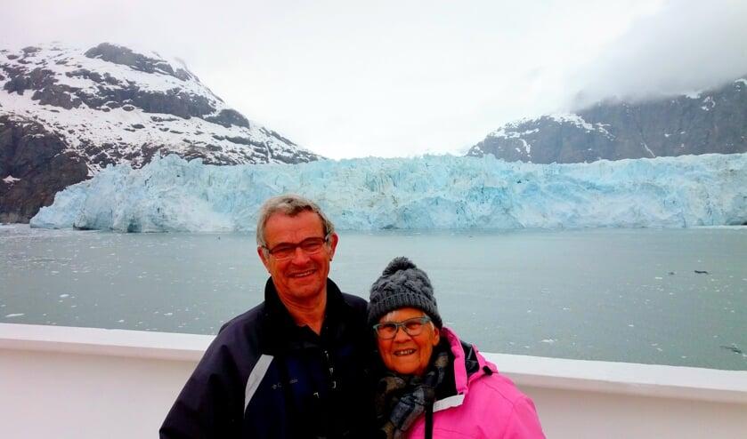 Kees Hendrikx en zijn vrouw Ida kwamen na een boottocht langs Japan en  Siberië via de Beringzee in Alaska aan.