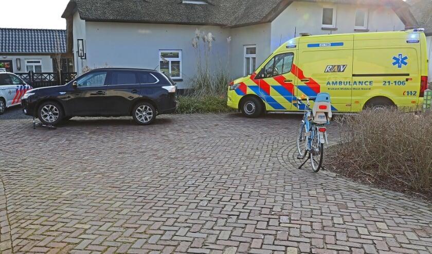 Ongeval in Lith. (Foto: Charles Mallo, Foto Mallo)