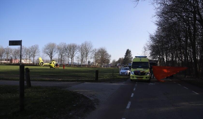 <p>Hoe het ongeval precies heeft kunnen gebeuren is niet duidelijk. De politie doet onderzoek. (Foto: SK-Media).</p>