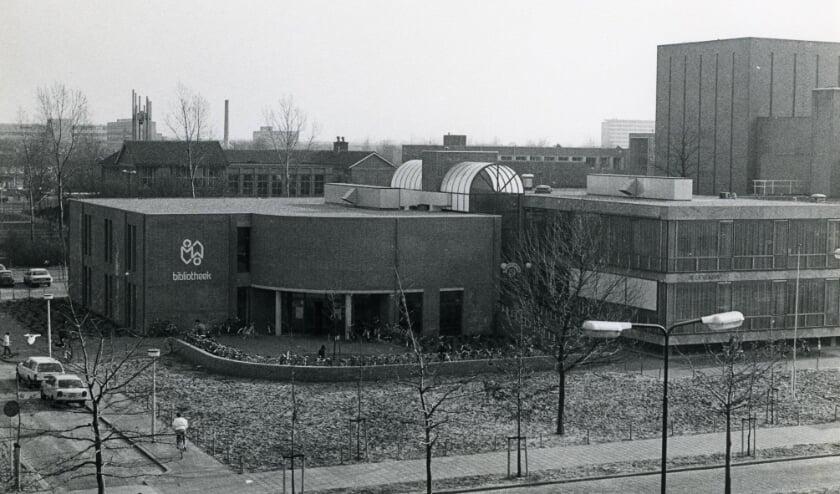 <p>De Bibliotheek Oss aan de Raadhuislaan, na de verbouwing in 1984. Collectie Stadsarchief Oss.</p>