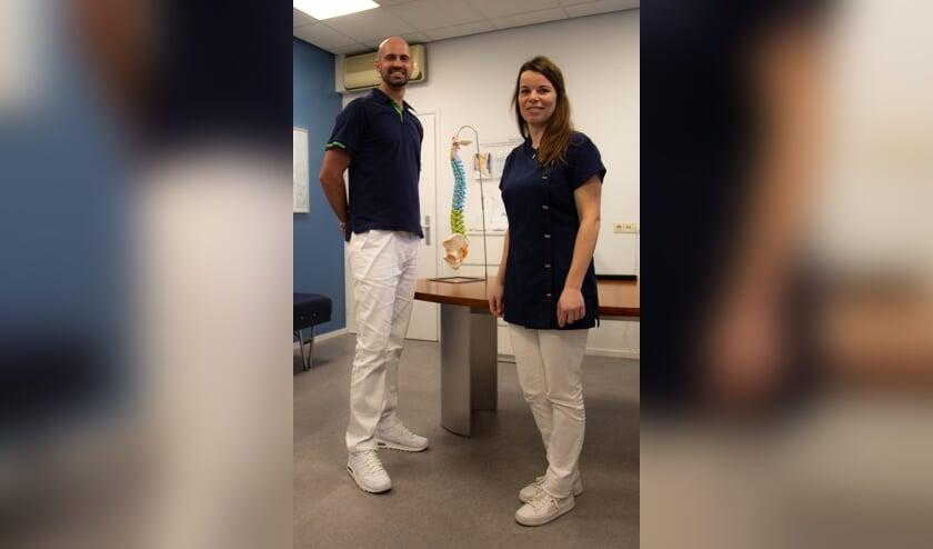 <p>Het topteam van Rugcentrum Boxmeer wordt gevormd door Chiropractor Jacques Maree en Tessa Heurkens aan de frontoffice.</p>