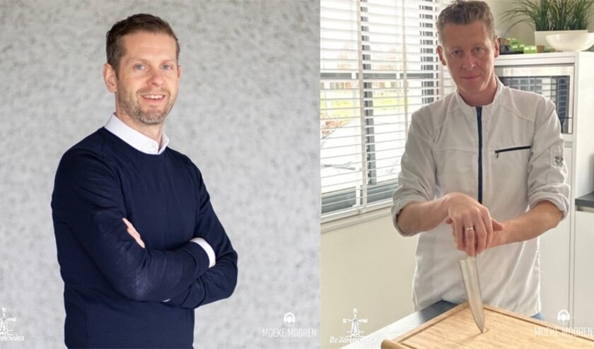 <p>Jirri Sisnaiski (links) en Oscar den Duijn.&nbsp;</p>