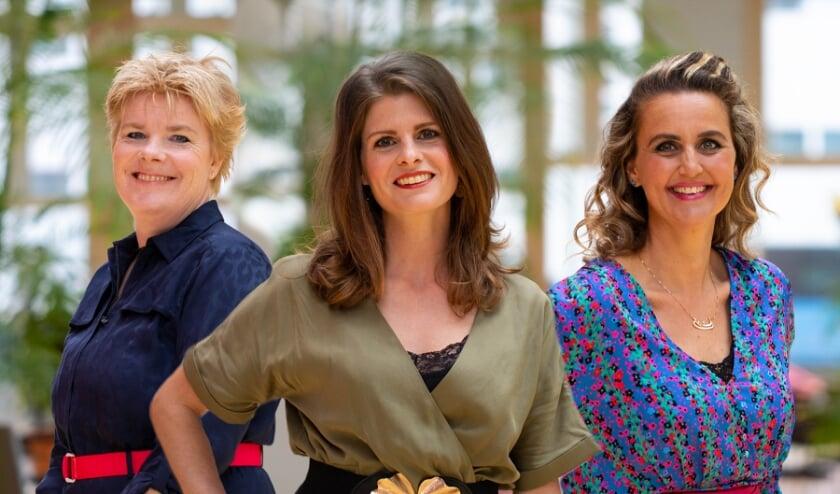 Margreet Hoekstra (T-Mobile), Jolanda van Gerwe (Join us) en Tisha van Lammeren (T-Mobile).