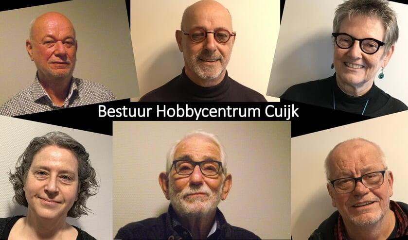 <p>Het bestuur van HC, v.l.n.r. boven: Geert Jans, Hans Cranen, Anka Cranen. onder: Lidwien Bun&eacute;, Peter Schouten, Martien Peters.</p>