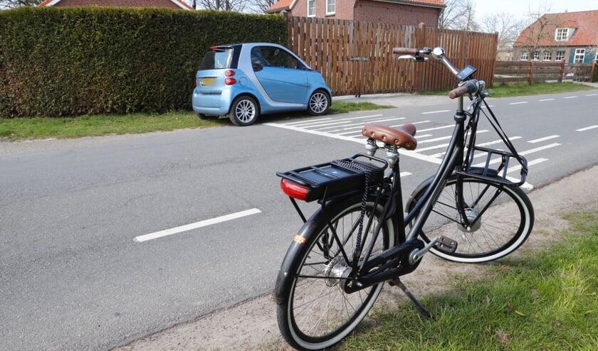 De fietster kwam uit een zijweg en wilde oversteken, waarna het mis ging.