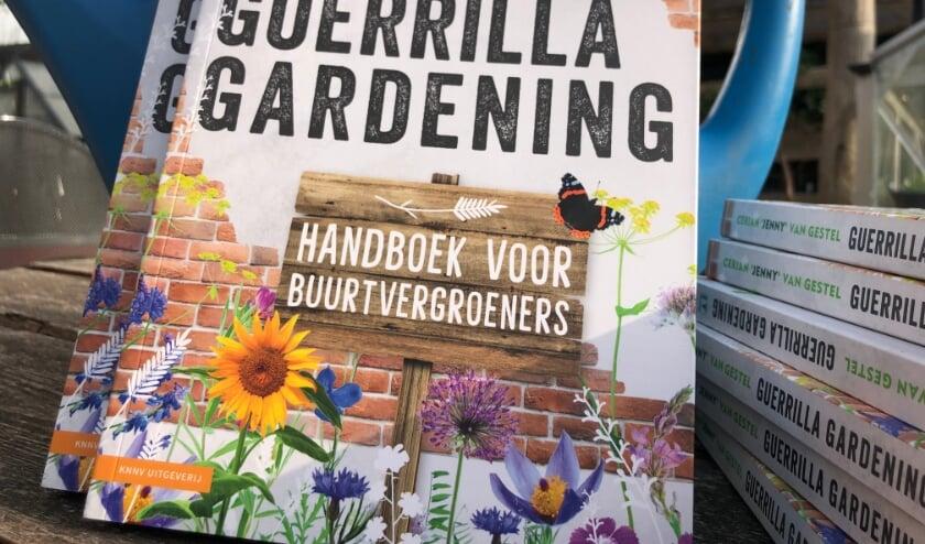 Het boek 'Guerrilla Gardening'.