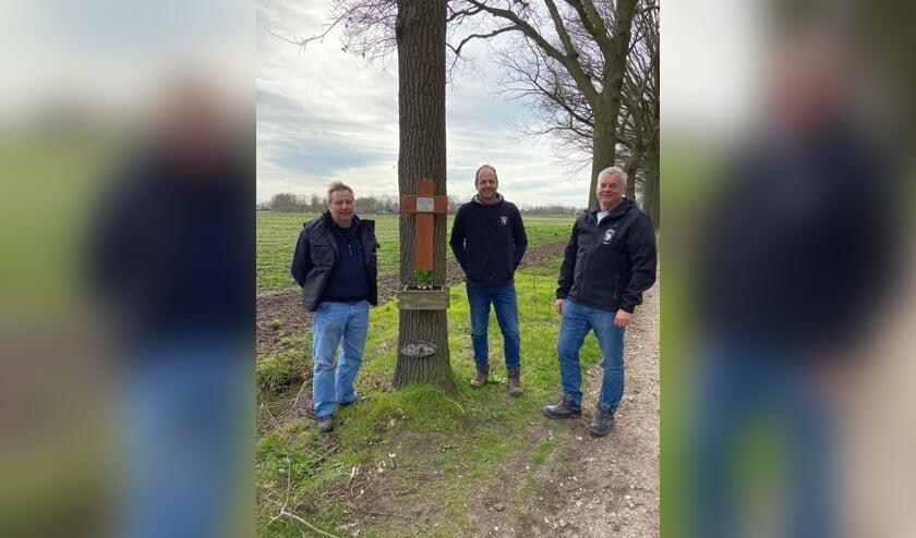 Van links naar rechts: Henk vd Oetelaar, Jurgen Swinkels en Erwin Janssen.