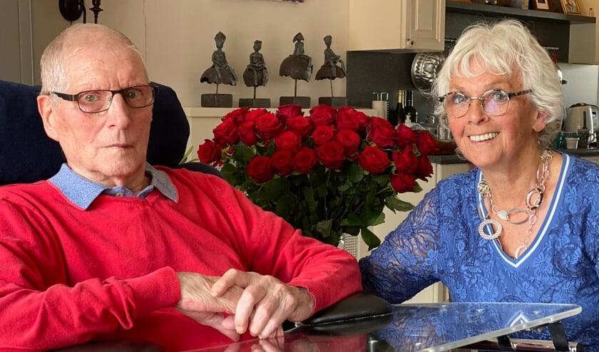 Arie en Thea van Bergen - Claassen zijn al een leven lang samen.